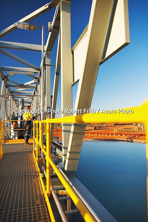Mine plant area superstructure<br /> Kimberley Diamond Company<br /> Ellendale Mine