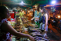 night street food-Siem Reap, Cambodia