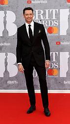 February 21, 2019 - London, London, United Kingdom - Image licensed to i-Images Picture Agency. 20/02/2019. London, United Kingdom. Hugh Jackman at the Brit Awards in London. (Credit Image: © i-Images via ZUMA Press)