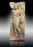 Photo of Roman relief sculpture, Aphrodisias, Turkey, Images of Roman art bas reliefs from the mauseleum of Julius Zoilus. .<br /> <br /> If you prefer to buy from our ALAMY STOCK LIBRARY page at https://www.alamy.com/portfolio/paul-williams-funkystock/greco-roman-sculptures.html . Type -    Aphrodisias     - into LOWER SEARCH WITHIN GALLERY box - Refine search by adding a subject, place, background colour, museum etc.<br /> <br /> Visit our ROMAN WORLD PHOTO COLLECTIONS for more photos to download or buy as wall art prints https://funkystock.photoshelter.com/gallery-collection/The-Romans-Art-Artefacts-Antiquities-Historic-Sites-Pictures-Images/C0000r2uLJJo9_s0