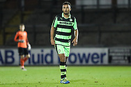Forest Green Rovers Shubbs Kai(9) during the The FA Youth Cup match between Bristol Rovers and Forest Green Rovers at the Memorial Stadium, Bristol, England on 2 November 2017. Photo by Shane Healey.