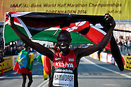 2014 World Half Marathon Championships in Copenhagen.