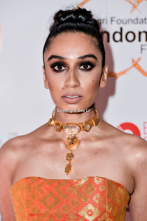 Lisa Haydon is a actress arrives at London Indian Film Festival world premiere of Anubhav Sinha's 'Article 15' at Picturehouse Central, on 20 June 2019, London , UK.