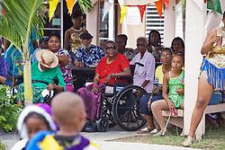 Mini Carnival at Lucinda Millin Home for the Aged.  St. Thomas, USVI.  11 April 2015.  © Aisha-Zakiya Boyd