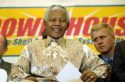 NELSON ROLIHLAHLA MANDELA (July 18, 1918 - December 5, 2013), 95, world renown civil rights activist and world leader. Mandela emerged from prison to become the first black President of South Africa in 1994. As a symbol of peacemaking, he won the 1993 Nobel Peace Prize. Joined his countries anti-apartheid movement in his 20s and then the ANC (African National Congress) in 1942. For next 20 years, he directed a campaign of peaceful, non-violent defiance against the South African government and its racist policies and for his efforts was incarcerated for 27 years. Remained strong and faithful to his cause, thru out his life, of a world of peace. Transforming the world, to make it a better place. PICTURED: February 24, 1999 - NELSON MANDELA  in Transkei. (Credit Image: © Greg Marinovich/ZUMA Wire/ZUMAPRESS.com)