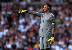 Costa Rica's Keylor Navas during the International Friendly match at Elland Road, Leeds
