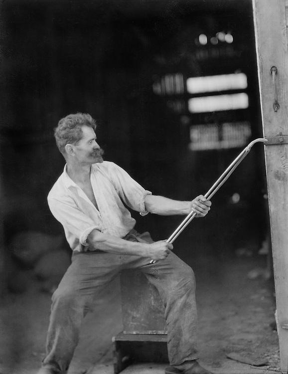Worker, Piesslinger Works, Austria, 1928