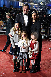 © under license to London News Pictures.  30/11/2010 Peter Jones and family attends the World Premiere and Royal Film Performance of The Cronicles of Narnia: The Voyage of The Dawn Treader at  Leicester Square, London, 30 November 2010. Picture credit should read: Julie Edwards/London News Pictures
