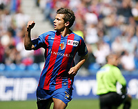 Fotball<br /> Sveits Super League 2009/2010<br /> Foto: EQ Images/Digitalsport<br /> NORWAY ONLY<br /> <br /> Basel Valentin Stocker jubelt ueber das Tor zum 1:1