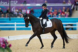 Baker Natasha (GBR) - Cabral<br /> Individual Championship Test  - Grade II  <br /> London 2012 Paralympic Games<br /> © Hippo Foto - Jon Stroud