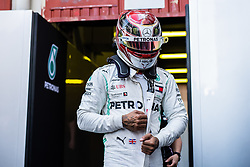 February 28, 2019 - Montmelo, Barcelona, Spain - #44 Lewis HAMILTON driver of Mercedes AMG Petronas Racing during the winter test at Circuit de Barcelona Catalunya. (Credit Image: © AFP7 via ZUMA Wire)