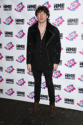 Matt Healy arriving at the VO5 NME Awards 2017 held at the O2 Academy Brixton, London. Picture date: Wednesday February 15, 2017. Photo credit should read: Doug Peters/ EMPICS Entertainment
