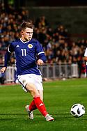 Glenn Middleton Scotland U21s (Rangers FC) during the U21 UEFA EUROPEAN CHAMPIONSHIPS match Scotland vs England at Tynecastle Stadium, Edinburgh, Scotland, Tuesday 16 October 2018.