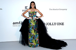 Winnie Harlow attending the 26th amfAR Gala held at Hotel du Cap-Eden-Roc during the 72nd Cannes Film Festival. Picture credit should read: Doug Peters/EMPICS