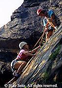 Outdoor recreation, Rock Climbing, Repelling, Rock Face Ledge, Susquehanna River, Lancaster Co., PA