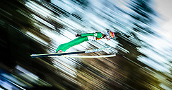 29.01.2016, Casino Arena, Seefeld, AUT, FIS Weltcup Nordische Kombination, Seefeld Triple, Skisprung, Wertungssprung, im Bild Fabian Steindl (AUT) // Fabian Steindl of Austria competes during his Competition Jump of Skijumping of the FIS Nordic Combined World Cup Seefeld Triple at the Casino Arena in Seefeld, Austria on 2016/01/29. EXPA Pictures © 2016, PhotoCredit: EXPA/ JFK