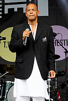 Roland Gift  at the Pub in the Park Warwick photo by Michael Butterworth