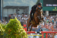 Emanuele GAUDIANO (ITA) riding Chalou during the Nations Cup of the World Equestrian Festival, CHIO of Aachen 2018, on July 13th to 22th, 2018 at Aachen - Aix la Chapelle, Germany - Photo Christophe Bricot / ProSportsImages / DPPI