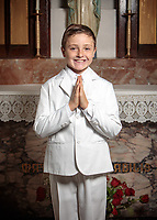 First Communion celebration at St Catherine of Siena in Norwood MA on October 24, 2020, 10:00 AM