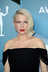 Michelle Williams at the 26th Annual Screen Actors Guild Awards held at the Shrine Auditorium in Los Angeles, USA on January 19, 2020.