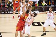 DESCRIZIONE: Berlino EuroBasket 2015 - <br /> Turkey Spain<br /> GIOCATORE: Guillermo Hernangomez<br /> CATEGORIA: Tiro Difesa<br /> SQUADRA: Spain<br /> EVENTO: EuroBasket 2015 <br /> GARA: Berlino EuroBasket 2015 - Turkey vs Spain<br /> DATA: 06-09-2015 <br /> SPORT: Pallacanestro <br /> AUTORE: Agenzia Ciamillo-Castoria/I.Mancini <br /> GALLERIA: FIP Nazionali 2015 FOTONOTIZIA: Berlino EuroBasket 2015 - Turkey vs Spain
