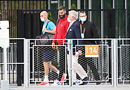 Benoit Paire of France with Nelson Montfort ahead of the French Open 2021, a Grand Slam tennis tournament at Roland-Garros stadium on May 29, 2021 in Paris, France - Photo Jean Catuffe / ProSportsImages / DPPI