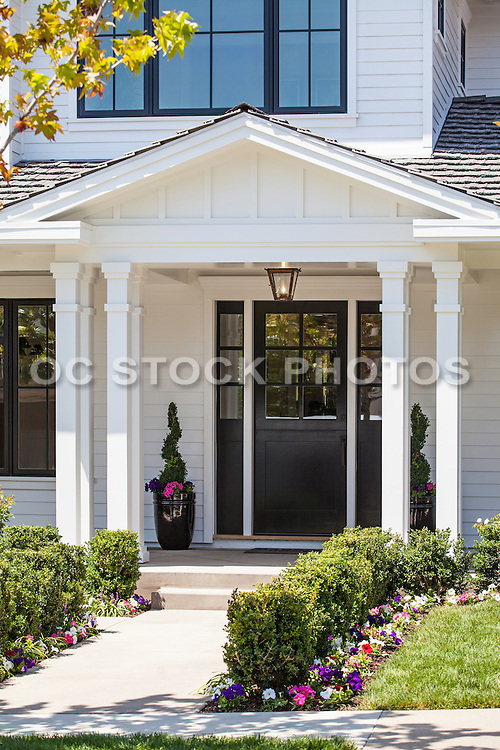 Colonial Style Front Entry Way Home