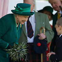..The Queen and the Duke of Edinburgh were today enjoying the Highland Games..The Monarch and Philip were greeted by a 17,000-strong crowd at the Braemar Gathering in Aberdeenshire..The Queen, who was dressed in emerald green, and a kilted Philip arrived at the Games' arena shortly after 3pm in a maroon Rolls-Royce..Spectators joined in singing the national anthem shortly after their arrival..The Queen received a posy from 11-year-old William Marsden before she and the Duke took their seats in the Royal Pavilion..The Queen is patron of the gathering, which takes place in the picturesque village of Braemar on the first Saturday in September and coincides with the Queen's annual two-month holiday at nearby Balmoral Castle..Braemar, Scotland 1st September 2007..© Marco Secchi/xianpix.com.Tel 0845 0506211  - 0773 415 6875.studio@sitheanphoto.com.NUJ recommended terms & conditions apply. Moral rights asserted under Copyright Designs & Patents Act 1988. .Credit is required. .No part of this photo to be stored, reproduced, manipulated or transmitted by any means without permission....COPYRIGHT NOTICE.© Marco Secchi/xianpix.com..COUNTRY.UK GBR826...CREDIT.© Marco Secchi/xianpix.com