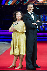 Susan Calman and Kevin Clifton posing during photocall before the opening night of Strictly Come Dancing Tour 2018 at Arena Birmingham in Birmingham, UK. Picture date: Thursday 18 January, 2018. Photo credit: Katja Ogrin/ EMPICS Entertainment.