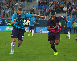 August 24, 2017 - Saint-Petersburg, Russia - Of The Russian Federation. Saint-Petersburg. Zenit-Arena. Arena Saint-Petersburg. The UEFA Europa League. The second leg of the round of the playoffs Zenit - Utrecht. Zenit won with the score 2:0. Player. (Credit Image: © Russian Look via ZUMA Wire)