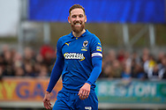 AFC Wimbledon midfielder Scott Wagstaff (7) smiling during the EFL Sky Bet League 1 match between AFC Wimbledon and Bolton Wanderers at the Cherry Red Records Stadium, Kingston, England on 7 March 2020.