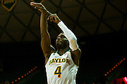 WACO, TX - JANUARY 3: Gary Franklin #4 of the Baylor Bears shoots the ball against the Savannah State Tigers on January 3, 2014 at the Ferrell Center in Waco, Texas.  (Photo by Cooper Neill) *** Local Caption *** Gary Franklin