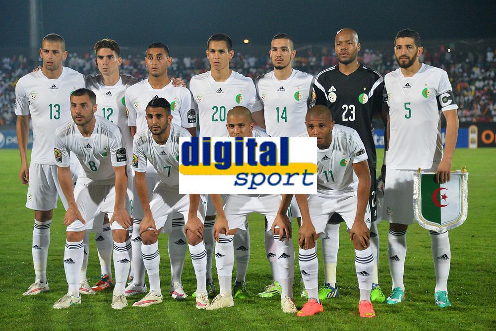 Equipe Algerie<br /> Islam Slimani - Carl Medjani - Faouzi Ghoulam - Aissa Mandi - Nabil Bentaleb - Rais M Bolhi - Rafik Halliche - <br /> Mehdi Lacen - Riyad Mahrez - Sofiane Feghouli - Yacine Brahimi