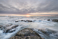 Kalaloch Beach 4 at sunset, Olympic National Park Washington