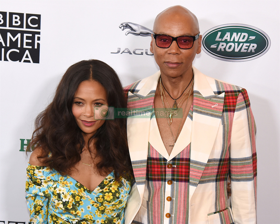 September 15, 2018 - Beverly Hills, California, USA - THANDIE NEWTON and RUPAUL ANFRE CHARLES attends the 2018 BAFTA Los Angeles + BBC America TV Tea Party at the Beverly Hilton in Beverly Hills. (Credit Image: © Billy Bennight/ZUMA Wire)