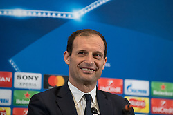 March 6, 2018 - London, UNITED KINGDOM - Massimiliano Allegri manager of Juventus during the press conference ahead the UEFA Champions League match between Tottenham Hotspur and Juventus at Wembley Stadium, London, England on 6 March 2018. (Credit Image: © Giuseppe Maffia/NurPhoto via ZUMA Press)