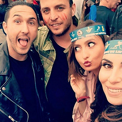 "Sila Sahin releases a photo on Instagram with the following caption: ""Gestern waren meine Lieblingsmenschen in Bad Segeberg zur Premiere \ud83d\ude0d #vermissung #friends #loveuall @freddyjaxxn @aliacarberlin @banu.sari @_____nunu_____ @semy_berlin @samuelradlinger30 @sinaful @lindas_wonderland22 @sylvia_walker \ud83d\udc95#premiere"". Photo Credit: Instagram *** No USA Distribution *** For Editorial Use Only *** Not to be Published in Books or Photo Books ***  Please note: Fees charged by the agency are for the agency's services only, and do not, nor are they intended to, convey to the user any ownership of Copyright or License in the material. The agency does not claim any ownership including but not limited to Copyright or License in the attached material. By publishing this material you expressly agree to indemnify and to hold the agency and its directors, shareholders and employees harmless from any loss, claims, damages, demands, expenses (including legal fees), or any causes of action or allegation against the agency arising out of or connected in any way with publication of the material."
