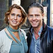 NLD/Amsterdam/20101003 - Premiere De Verschrikkelijke Ikke en de rest kan stikken, Danny de Munk en partner Jenny Sluyter