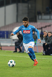 November 21, 2017 - Napoli, Campania/Napoli, Italy - Soccer match between SSC Napoli  and   FC Shakhtar Donetsk    at San Paolo  Stadium in Napoli .final result Napoli vs. FC Shakhtar Donetsk   3-0.In photo,Lorenzo Insigne (SSC NAPOLI  (Credit Image: © Salvatore Esposito/Pacific Press via ZUMA Wire)