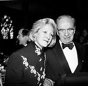 Rupert & Anna  Murdoch. New York magazine celebration. Metropolitan Museum. New York. 1993. Film 93286f34<br /> © Copyright Photograph by Dafydd Jones<br /> 66 Stockwell Park Rd. London SW9 0DA<br /> Tel 0171 733 0108