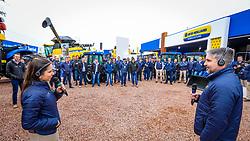 New Holland participa da 42ª edição da Expointer 2019 - Inspiração Que Vem do Campo, que acontece entre os dias 24/08/2019 a 01/09/2019 no Parque Estadual de Exposições Assis Brasil, em Esteio/RS. FOTO: MARCOS NAGELSTEIN/ AGÊNCIA PREVIEW
