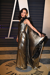 Constance Wu attending the 2019 Vanity Fair Oscar Party hosted by editor Radhika Jones held at the Wallis Annenberg Center for the Performing Arts on February 24, 2019 in Los Angeles, CA, USA. Photo by David Niviere/ABACAPRESS.COM