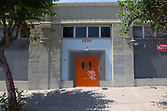 Exterior of the now closed Bootleg Theater.