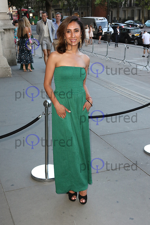 Anita Rani, V&A Summer Party, Victoria & Albert Museum, London UK, 21 June 2017, Photo by Richard Goldschmidt
