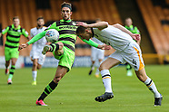 Port Vale v Forest Green Rovers 160917