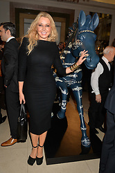 CAROL VORDERMAN at the Longines World's Best Racehorse Awards 2014 hosted by Longines and the International Federation of Horseracing Authorities held at Claridge's, Brook Street, London on 20th January 2015.