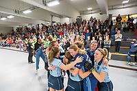 HAMBURG  (Ger) - Match 20,  for FINAL, LMHC Laren - Dinamo Elektrostal (Rus) (3-1).  Photo: European Champion , LMHC Laren.   Eurohockey Indoor Club Cup 2019 Women . WORLDSPORTPICS COPYRIGHT  KOEN SUYK