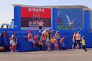 Stage in Gibara,Holguin,Cuba.