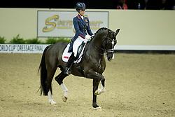 Dujardin Charlotte, (GBR), Valegro<br /> Kur<br /> Reem Acra FEI World Cup™ Dressage Final<br /> Las Vegas 2015<br />  © Hippo Foto - Dirk Caremans<br /> 18/04/15