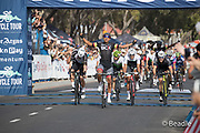 Nolan Hoffman  of team BCX wins the 2018 Cape Town Cycle Tour. Image by Greg Beadle